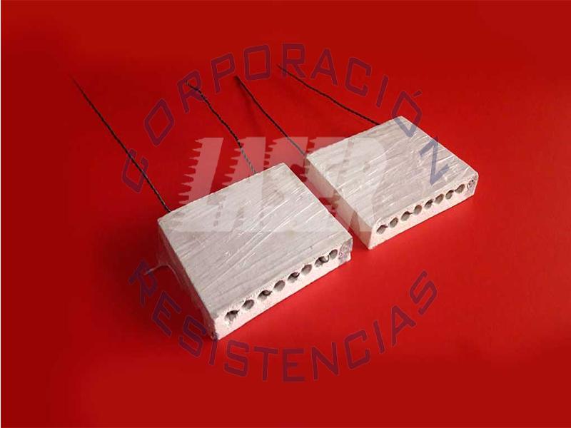 Resistencias Ceramica de alta alumina, especial para hornos o estufa